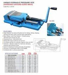 Unique Machine Vice Hydraulic Pressure Vise - 6x200mm, Model Name/Number: U3510, Size: 150MM
