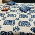 Elephant Art Luxury Bedspread