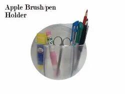 Abs Pink Blue Green Natural Brush Holders, Number Of Holder: 1