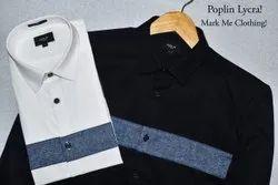 Party Wear Plain Men Designer Shirt
