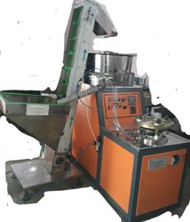 3 Phase 1 kw Hdpe Caps Cap slitting machine with elevator, Production Capacity: 15000 To 20000 Caps Per Hour