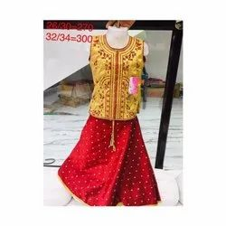 Red Baby Girl Party Wear Dress