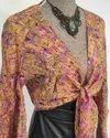Vintage Saree Silk Dress