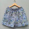 Handblock Printed Shorts