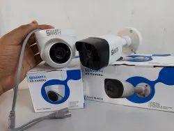 Smart-i 2 MP Night Vision CCTV Bullet Camera, Camera Range: 15 to 20 m