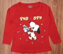 T Shirt Cotton Kids Fashion Clothing, 2 To 10 Yrs