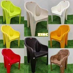 White Plastic Restaurant chair