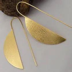 Party Earring Handmade Jewellery, Size: 14 Mm