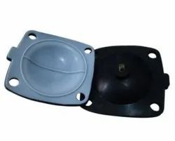 EPDM rubber diaphragm teflon coat