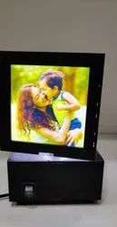 Robojet MDF Sublimation Personalized LED Rotating Lamp, 5 W and Below, Voltage: 12
