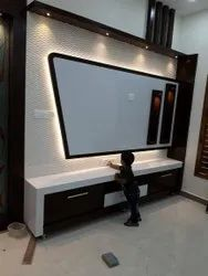 Flat Decorative Pvc Wall Panel, For Residential