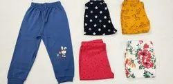 Multi Multicolor Girl''s cotton Lowers