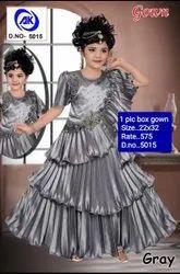 5051 Kids Party Wear Gown