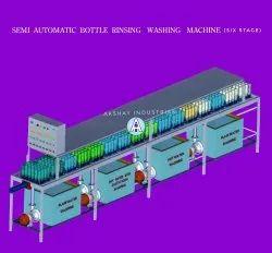 Six Stage Bottle Washing Machine
