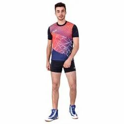 Fickle Polyester Sports T Shirts, Size: Medium