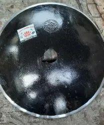 High Corban Steel Black Harrow Disc Blade, Round, 60