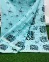 Soft Linen Cotton Saree