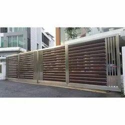 Steel Main Gate