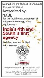 Quality Assurance Of X Ray Machines Nabl Accredited Testing