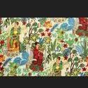 Frida Khalo Printed Cotton Fabric