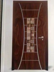 Wood Laminated Decorative Doors, Wooden
