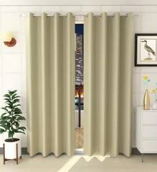 Brown P Curtains, For Door