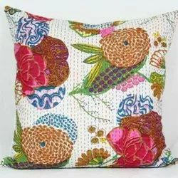 Cotton Kantha Cusion Covers