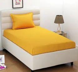 Plain cotton bedsheets in Panipat