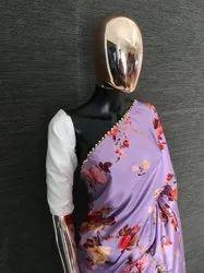 Heavy Satin Silk Saree