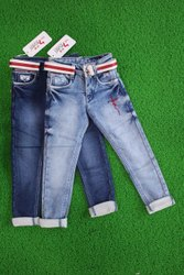 Boy (1) Light Blue (2) Dark Blue Kids Jeans