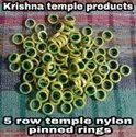 5 Row Temple Nylon Pinned Ring (textile Machinery)