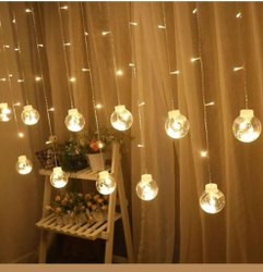 Warm White PVC Wish Ball Decorative Lights, For Decoration