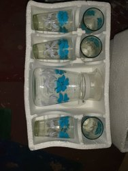 Transparent Glass Lemon Set