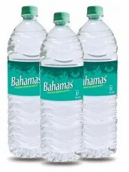 Bahamas 1 Litre Packaged Drinking Water Bottle, Packaging Type: Cartoons