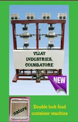 Double Lock System Container Making Machine