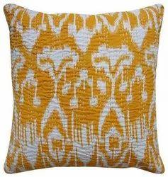 Ikkat Cushion Cover