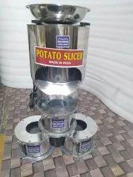 Potato Slicer Wafer Machine