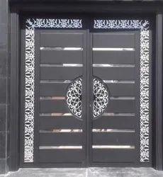 Metal Ms Designer Safety Door, For Home