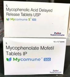 Mycomune S 360/500 Mg Tablets