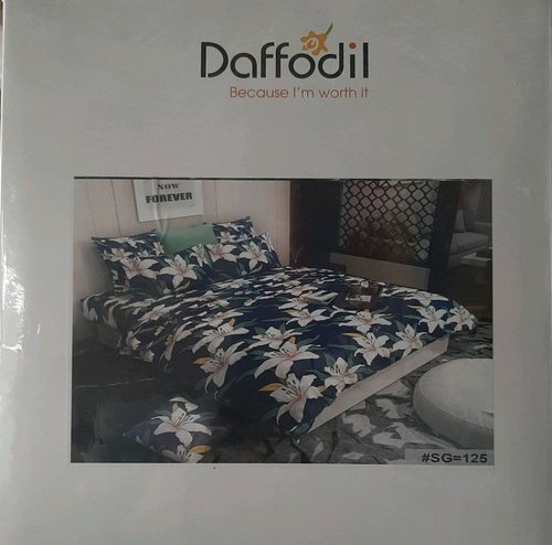 Blue Double Bed Sheet 1 Size 2 25x2, What Size Is A Double Bed In Meters