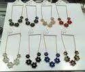 Diamond Glass necklace set