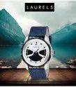 Analog Blue Laurels Watch