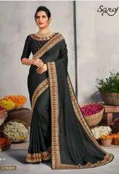 Swarovski Embroidery saree