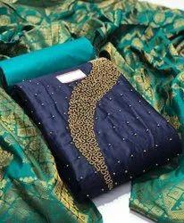 Party Wear Unstitched Designer salwar