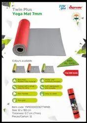 Yoga mat twin color 7 mm