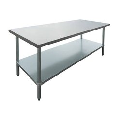 Standard Polished Stainless Steel Table, For Office