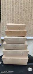 Craft Paper Food Box