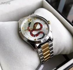 Analog Round Gucci Watch, For Personal Use