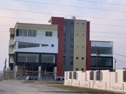 Concrete Frame Structures Commercial Complex Construction Ayodhya