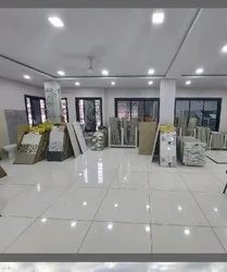 White Traditional Shree Ram Marble showroom, For Home
